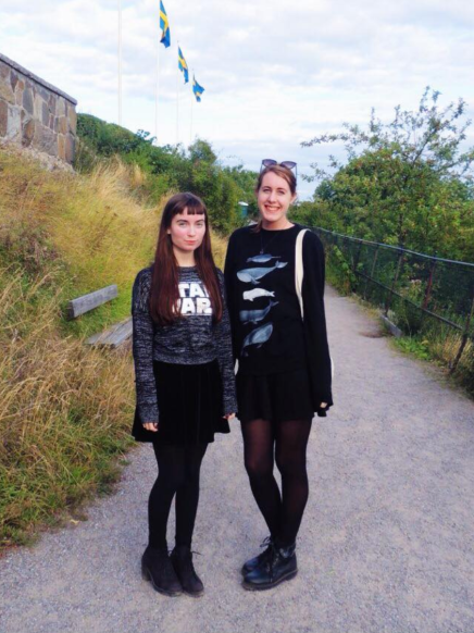 Louise and me at Skansen.