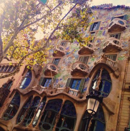 Gaudí's famous Casa Batllo.